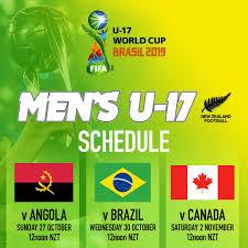 FIFA U17 WC 2019 Fixtures